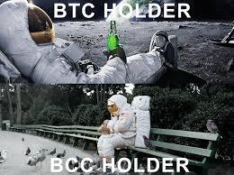 Moon Meme - btc bcc moon men meme where will you be memes doge the bitcoin pub