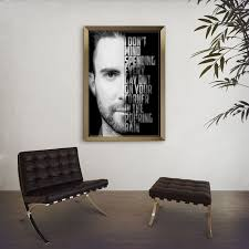 Cheap Home Decor Items Online Adam Levine Art She Will Be Loved Maroon 5 Poster Lyric