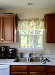 Kitchen Windows Decorating And Easy Window Valance