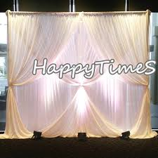 wedding backdrop decorations 3 3m event curtain backdrop with detachable drapes beautiful wedding