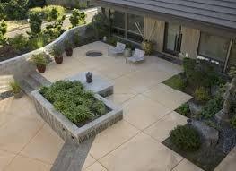 patio design backyard concrete patio ideas cement decoration