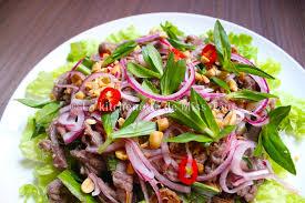 recette cuisine crue bò tái chanh recette vietnamienne de boeuf cru au citron la