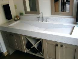 trough sink with 2 faucets bathroom sink bathroom sink with 2 faucets full size of basins