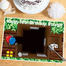 Minecraft Table Decorations Minecraft Party Supplies