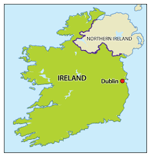 England On Map Removals To Ireland International Removals To Ireland
