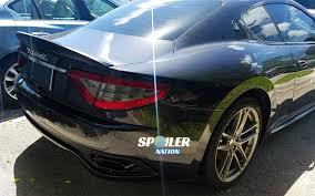 gran turismo maserati rear 2012 2017 maserati granturismo coupe aero rear lip spoiler