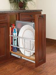 Kitchen Cabinets Spice Rack Pull Out Amazon Com Rev A Shelf 447 Bc 5c 5 In Pull Out Wood Base