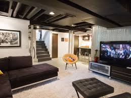 interior imposing basement living room remodeling design ideas