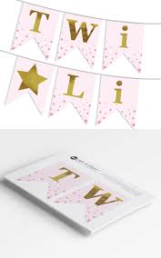twinkle twinkle little star banner diy printable banner pdf