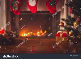 closeup red christmas gift box golden stock photo 659978107