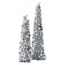 silver tinsel pop up tree rainforest islands ferry