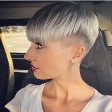 funky hairstyle for silver hair 10 best прическа images on pinterest beauty makeup grey colors