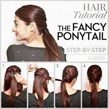 mature pony tail hairstyles ponytail hairstyle steps
