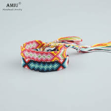 bracelet handmade images Amiu handmade bracelet custom cotton wrap popular woven rope jpg