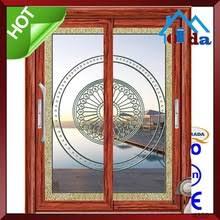 soundproof glass sliding doors aluminium door aluminium door direct from yongkang qida commerce