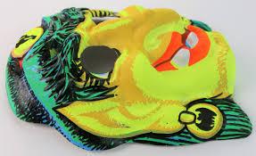 vintage gypsy witch halloween mask zest bars 1960s toppstone