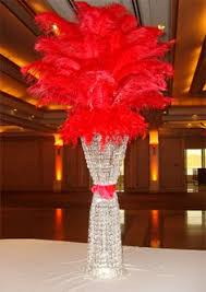Feather And Flower Centerpieces by Deco Mesh Sweet 16 Centerpiece Feathers Masquerade Michaels