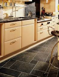 Kitchen Floor Ideas by Kitchens Flooring Idea Sn36 Norwegian Slate Silver With Mp38