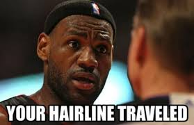 Meme Lebron James - 2 chaaaaaaainz the 50 meanest lebron james hairline memes of
