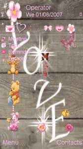 love themes for nokia 5233 animated love cute cartoon mobile themes for nokia 5233