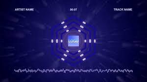 music visualizer videoblocks