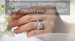 eternity ring finger choosing an eternity ring what should you consider