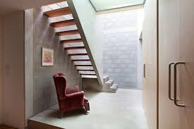 Rustic Home Interior Modern Stair Case In Rustic Home Interior Design Architecture