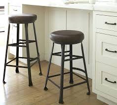 Pottery Barn Saddle Stool Bar Stool Bar Stool Leather Seat Covers Metal Bar Stool With