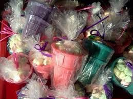 Ice Cream Gift Basket Ice Cream Cone Party Favors A Gift Basket Braiding And No Sew