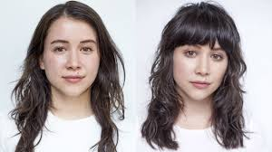 hairstyle makeovers before and after this awesome hair makeover will convince you to get bangs for fall