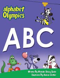 amazon com alphabet olympics 9780988806511 michelle stacey