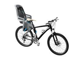 siège vélo pour enfant gris argent ridealong remorques enfants