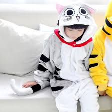 online shop yellow tiger cartoon design animal cosplay pajamas for