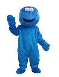cookie monster halloween costume adults amazon com cookie monster mascot costume cartoon costume