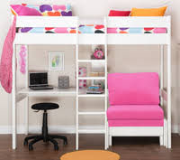 High Sleeper With Futon And Desk Loft Bed With Desk And Futon Search New Room Ideas For