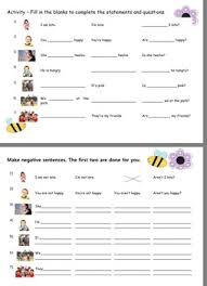u0026 verbs am is are grammar worksheets game u0026 flashcards