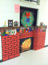 Preschool Wall Decoration Ideas by Backyards Classroom Christmas Door Decorating Fun Preschool