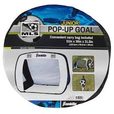 amazon com franklin sports mls pop up junior soccer goal 4 3