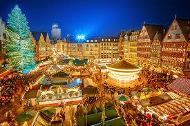 pictures nuremberg germany new year christmas tree night time houses