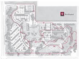 Iu Campus Map Locations Iu West Walking Trails Avon In