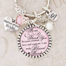 wedding necklace gifts images Mother of the bride gifts thank you keychain or jpg