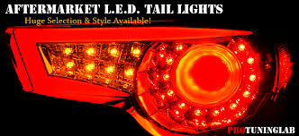 custom car tail lights euro style aftermarket performance led tail lights by protuninglab