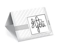 gift card presenters white stripe gift card presenters holders office