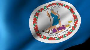 Virginia Flags Virginia State Flag Waving Motion Background Videoblocks