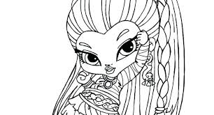 monster high coloring pages baby abbey bominable abbey bominable little girl monster high coloring page wesmec site