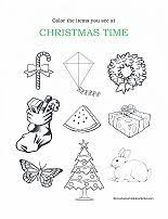 best solutions of christmas worksheets for preschool for your free