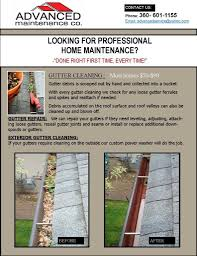 10 gutter cleaning flyer template lawn care flyer template on