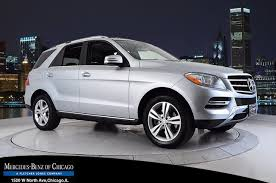 mercedes 2014 suv pre owned 2014 mercedes m class ml 350 suv in chicago