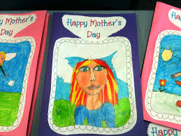 Latest Mother S Day Cards Handmade Cards For Mother Happy Mother S Day Mother U0027s Day Cards 6 7 U0026 A Few 8 Year Old Children Write