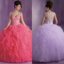 quinceanera dresses 2016 hot pink quinceanera dresses 2016 sheer back sleeveless gown